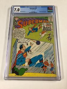 Superman 156 Cgc 7.0 Dc Silver Age