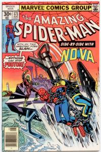 Amazing Spider-Man #171 NM- 9.2  Nova