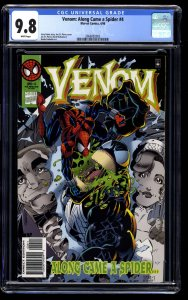 Venom: Along Came a Spider #4 CGC NM/M 9.8 White Pages