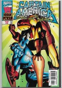 Captain America: Sentinel of Liberty   # 6 VF/NM (1998) Iron Man, Waid/Stern