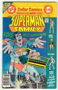 SUPERMAN FAMILY #183, VF/NM, Supergirl, Lois Lane, Neal Adams, DC 1977
