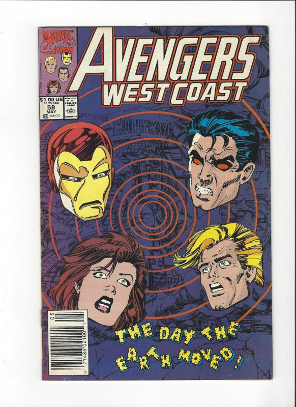 Avengers West Coast #58 NM