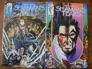 IMAGE Comic Book (1993 1995) SHAMAN'S TEARS #7 & #8