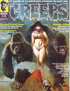 THE CREEPS #2 COMIC HORROR MAGAZINE