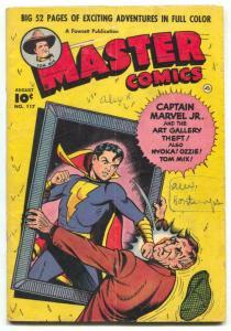 Master Comics #117 1950- Tom Mix- Captain Marvel Jr