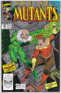 New Mutants (vol. 1, 1983) # 86 FN (Acts of Vengeance) Vulture, 1st app. Cable