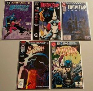 Detective comics run:ANN#1-5 8.0 VF (1988-92)