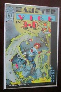 Hamster Vice in 3D #1 9.0 NM (1986)