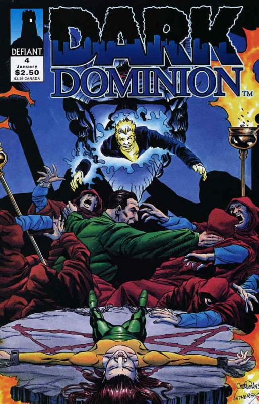 Dark Dominion #4 VF/NM; Defiant | save on shipping - details inside