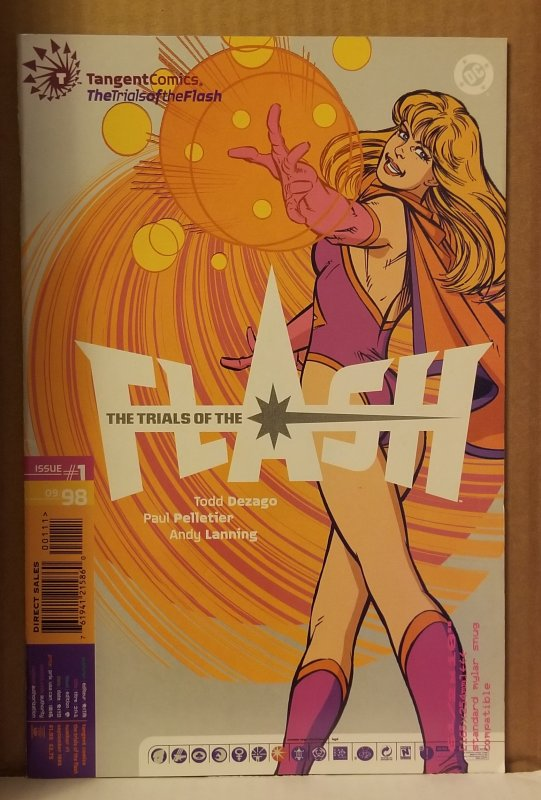 Tangent Comics/ The Trials of the Flash #1 (1998)