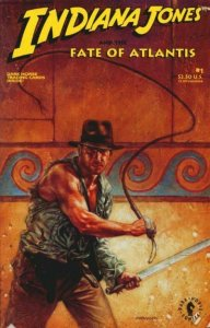 Indiana Jones and the Fate of Atlantis #1 (with card) FN; Dark Horse | save on s