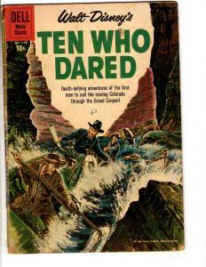 Four Color # 1178 VG Dell Silver Age Comic Book Ten Who Dared Walt Disney JL10