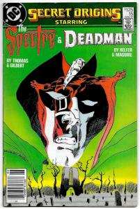 Secret Origins #15 Spectre & Deadman  (DC, 1987) VG