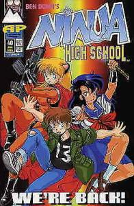 Ninja High School #40 VF/NM; Malibu | save on shipping - details inside