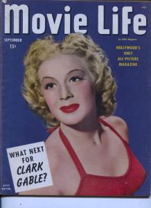Movie Life-Betty Hutton-Betty Grable-Marlene Dietrich-Red Skelton -Sept-1944