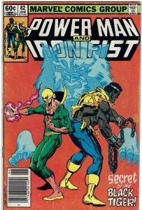 Power Man & Iron Fist #82 Newsstand FN-