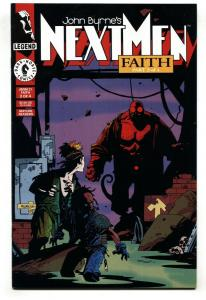 JOHN BYRNE'S NEXT MEN #21-FIRST HELLBOY-MIGNOLA-NM-KEY ISSUE-nm-