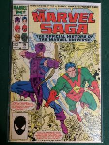 The Marvel Saga #15