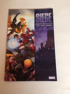 Siege Mighty Avengers TPB Collects 32-36 Nm Hank Pym USAgent Vision Hercules