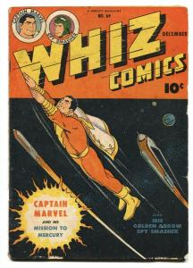 Whiz Comics #69 1945 Captain Marvel- Ibis- Spy Smasher- Golden Age G/VG