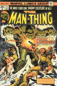 Man-Thing (1st Series) #11 FN; Marvel | save on shipping - details inside