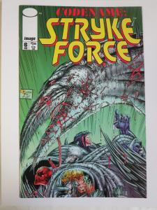 Codename: Stryke Force #6 (Image 1994) Signed by David Finch 1st Published Work