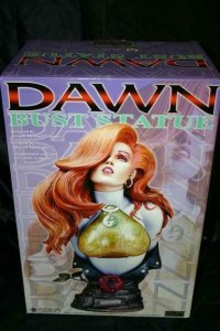 DAWN BUST STATUE, Joseph Linsner, Fewture, Crying Dawn, MIB, more JML in store