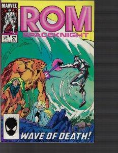 Rom #57 (Marvel, 1984)
