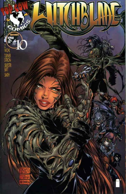 Witchblade #10 VF/NM; Image | save on shipping - details inside