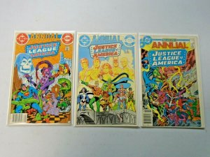 Justice League of America Annual #1-3 6.0 FN (1983-1985)