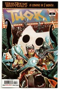 Thor #11 War Of The Realms (Marvel, 2019) NM