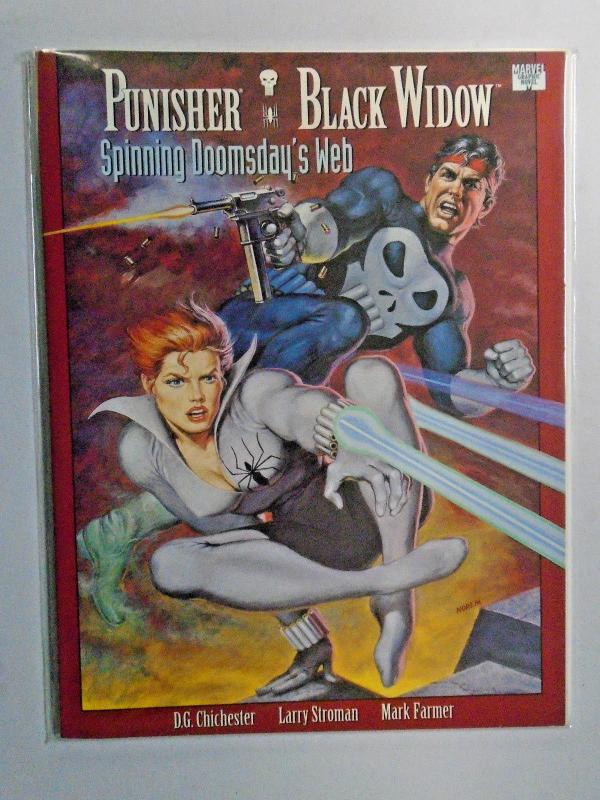 Punisher Black Widow Spinning Doomsday's Web #1 8.0 VF (1992)