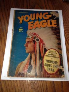 Young Eagle #10 GD (Fawcett June, 1952)