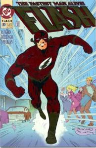 Flash (1987 series) #80, NM- (Stock photo)