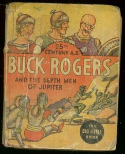 BUCK ROGERS #1169-BIG LITTLE BOOK-DEPTH MEN OF JUPITER G/VG