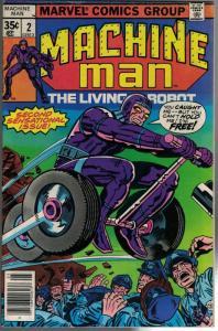 MACHINE MAN (1978) 2 VG-F May 1978