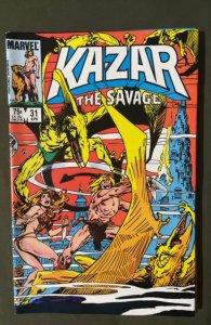 Ka-Zar the Savage #31 (1984)