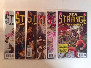 JSA Strange Adventures 1-6 Complete Near Mint Lot Set Run