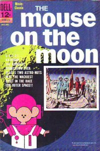 Movie Classics The Mouse On The Moon #12-530-312 (Oct-63) FN Mid-Grade