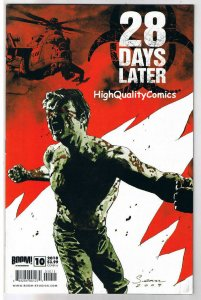 28 DAYS LATER 10, VF, Zombie,Horror, Walking Dead, 1st, 2009, more in store
