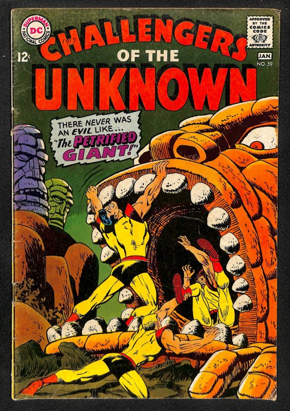 Challengers of the Unknown #59 (1968)