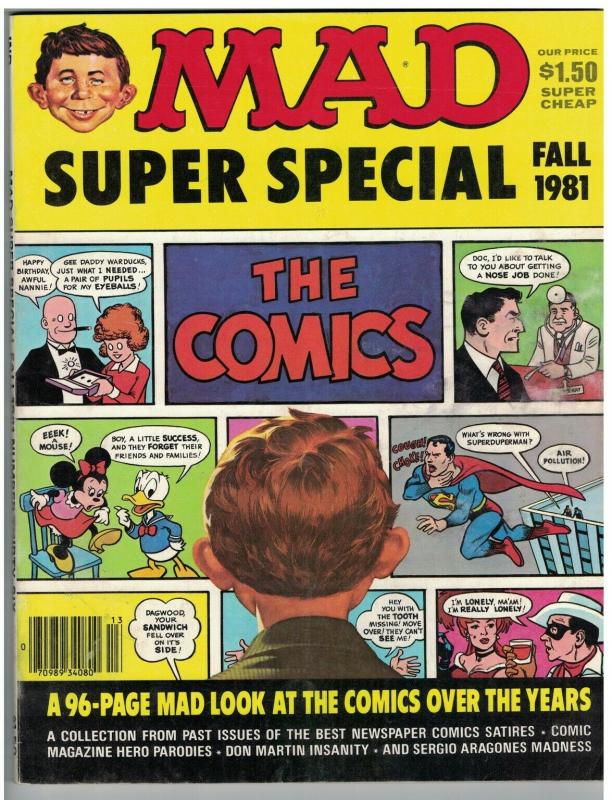 MAD SPECIAL (1981) 36 FINE  spoofs Comics 96 pp classic