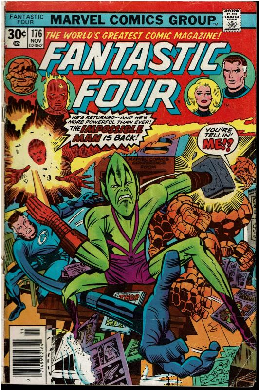Fantastic Four #176, 2.0 or Better
