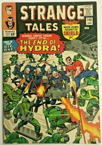 STRANGE TALES#140 VG/FN 1966 MARVEL SILVER AGE COMICS