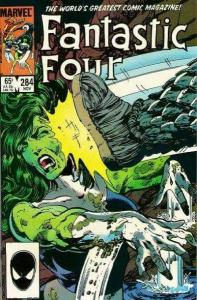 Fantastic Four (1961 series) #284, VF- (Stock photo)