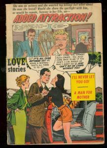 YOUNG ROMANCE #69 1954--WILD LOVE-ROMANCE COMIC ART FR