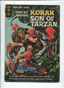 KORAK SON OF TARZAN #5 1964-GOLD KEY-RUSS MANNING-VG