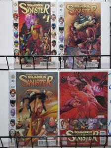 Squadron Sinister (Marvel 2015) #1-4 Secret Wars Tie-In Battleworld Supreme