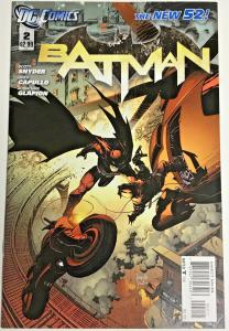 BATMAN#2 VF/NM 2011 SCOTT SNYDER FIRST PRINT VARIANT DC COMICS THE NEW 52!