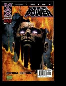 Lot of 14 Supreme Power MAX Marvel Comics 1 2 3 4 5 6 7 8 9 10 11 12 13 14 J338